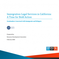 GCIR legal services immigrants refugees